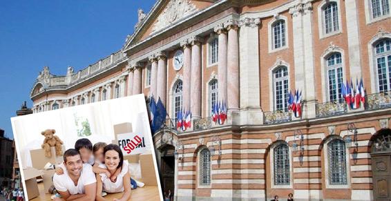 Organiser un déménagement en centre-ville de Toulouse