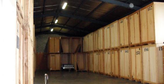 Location de garde meuble pour déménager une entreprise
