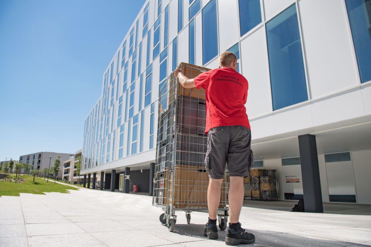 Solutions de stockage de meubles à Toulouse, contactez Capitole Déménagement
